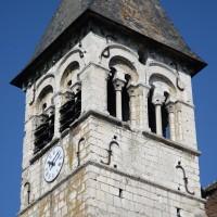 Le clocher vu du sud-est (2015)