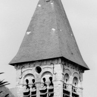 Le clocher vu du sud-ouest (1977)