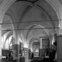 La nef sud et le choeur vus vers l'est (1997)