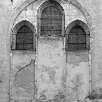 La fenêtre est de la chapelle du 13ème siècle (1972)
