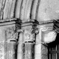 Les chapiteaux du piédroit de gauche du portail ouest (1994)