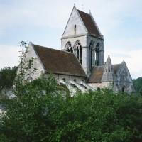 L'église vue du sud-ouest (1992)