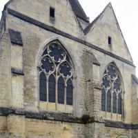 Vue partielle du choeur et de la chapelle nord depuis le sud-est (2015)