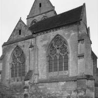 vue partielle du choeur et de la chapelle nord depuis l'est (1992)