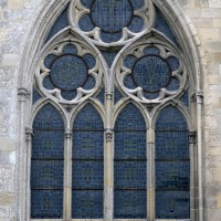 Fenêtre du mur est du choeur (2015)