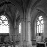 La chapelle nord vue vers le nord-est (1992)