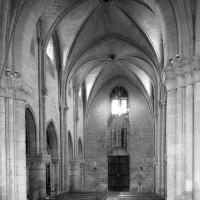 La nef vue vers l'ouest (1992)