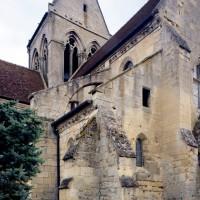 Vue partielle de l'église depuis le nord-ouest (2015)