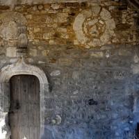 Oculi à la partie ouest du mur sud de la nef (2016)