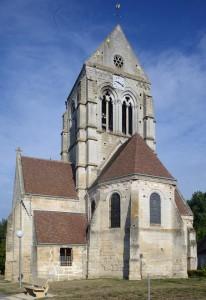 L'église vue du sud-est (2015)