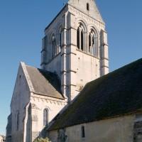 L'église vue du nord-ouest (1998)