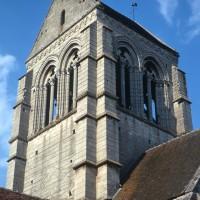 Le clocher vu du sud-ouest (1972)