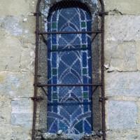 Fenêtre du mur sud de la nef (1972)
