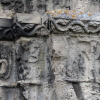 Chapiteaux des piédroits de droite du portail ouest (2015)