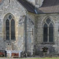 Vue partielle de l'église depuis le nord (2019)