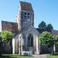 L'église vue du nord (1996)