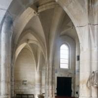 Le bas-côté sud de la nef vu vers le nord-ouest (1997)
