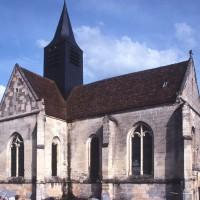 L'église vue du nord-ouest (1997)