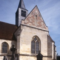 Le bras sud du transept vu depuis le sud-ouest (1997)