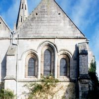La façade sud de la chapelle sud-est vue depuis le sud (1994)