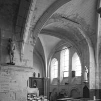 Vue partielle des deux chapelles  sud vers le sud-est