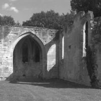 L'intérieur du bras sud du transept vu vers le sud-est (1995)