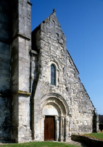 La façade vue du nord-ouest (1996)