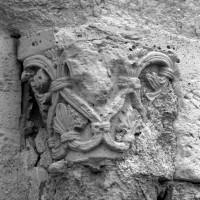 Chapiteau du piédroit de droite du portail ouest (1996)