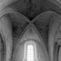 La voûte du bras nord du transept (1996)