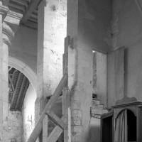Le revers de la façade vu vers le sud-ouest (1996)