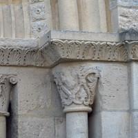 Chapiteaux des piédroits de droite du portail ouest (2019)