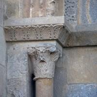 Chapiteau du piédroit de gauche du portail ouest (2019)