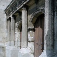 Le portail ouest vu du sud-ouest (2008)