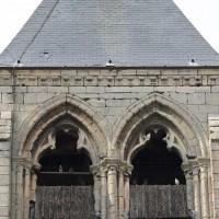 Partie supérieure du côté sud du clocher (2015)