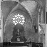 La chapelle nord vue vers l'est (1997)