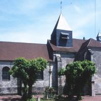 L'église vue du sud (2000)