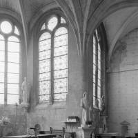 Vue partielle du bras sud du transept et du choeur vers le sud-est (2000)
