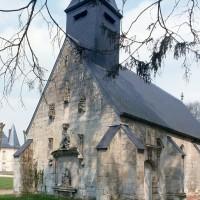 Vue partielle de l'église depuis le sud-ouest (1993)