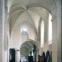La première chapelle nord vue vers le nord-ouest (1997)