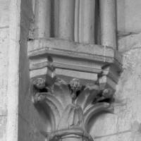 Chapiteau de la première chapelle nord (1997)