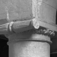 Chapiteau d'une pile du bas-côté de la nef (1997)