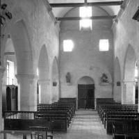 La nef vue vers l'ouest (1979)