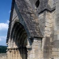 Le portail ouest vu du sud-ouest (1995)