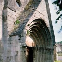 Le portail ouest vu du nord-ouest