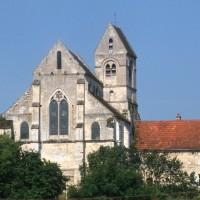 Le choeur et le clocher vus de l'est (1995)