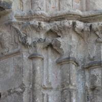 Chapiteaux des piédroits de droite du portail nord (2016)