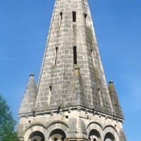 Le clocher vu du sud-est (1995)