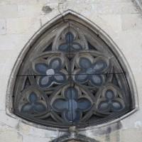 La fenêtre surmontant le portail nord (2016)