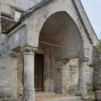 Le porche de la façade ouest (2016)