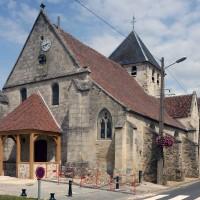 L'église vue du sud-ouest (2019)